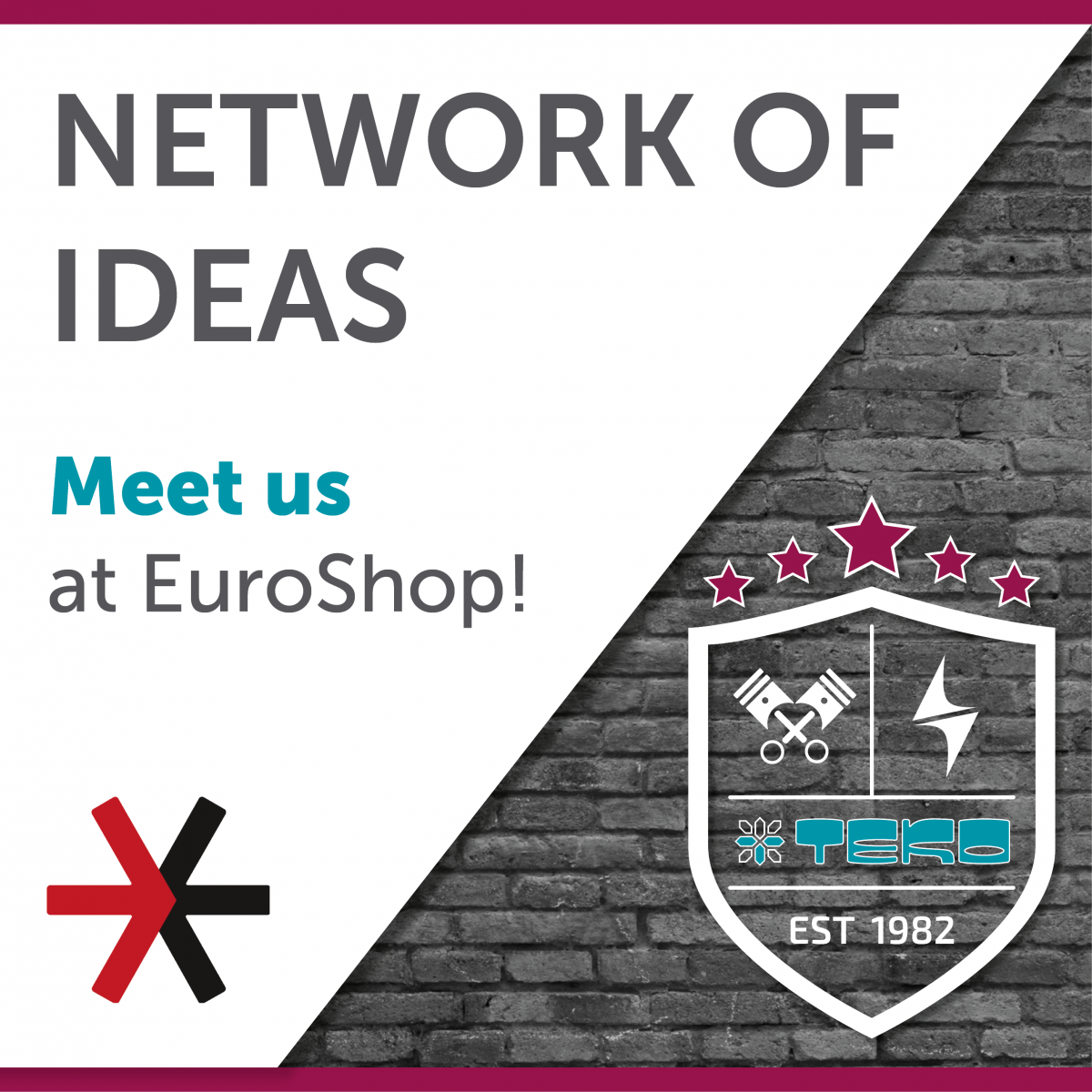 teko news invitation euroshop 2020 675x675 - The countdown to EuroShop is on